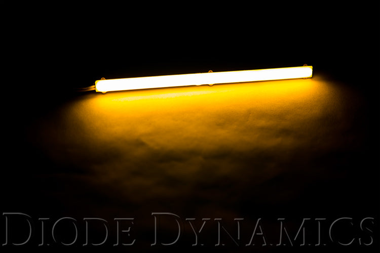 LED Strip Lights High Density SF Amber 9 Inch Diode Dynamics