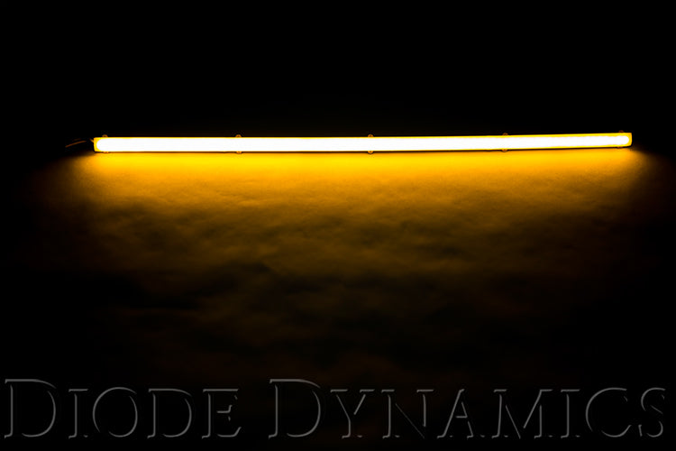 LED Strip Lights High Density SF Amber 12 Inch Diode Dynamics