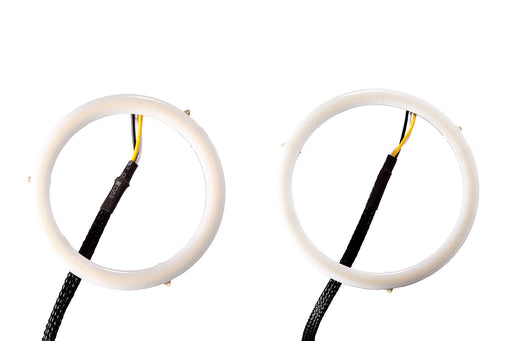 Halo Lights LED 80mm/100mm White Pair Diode Dynamics