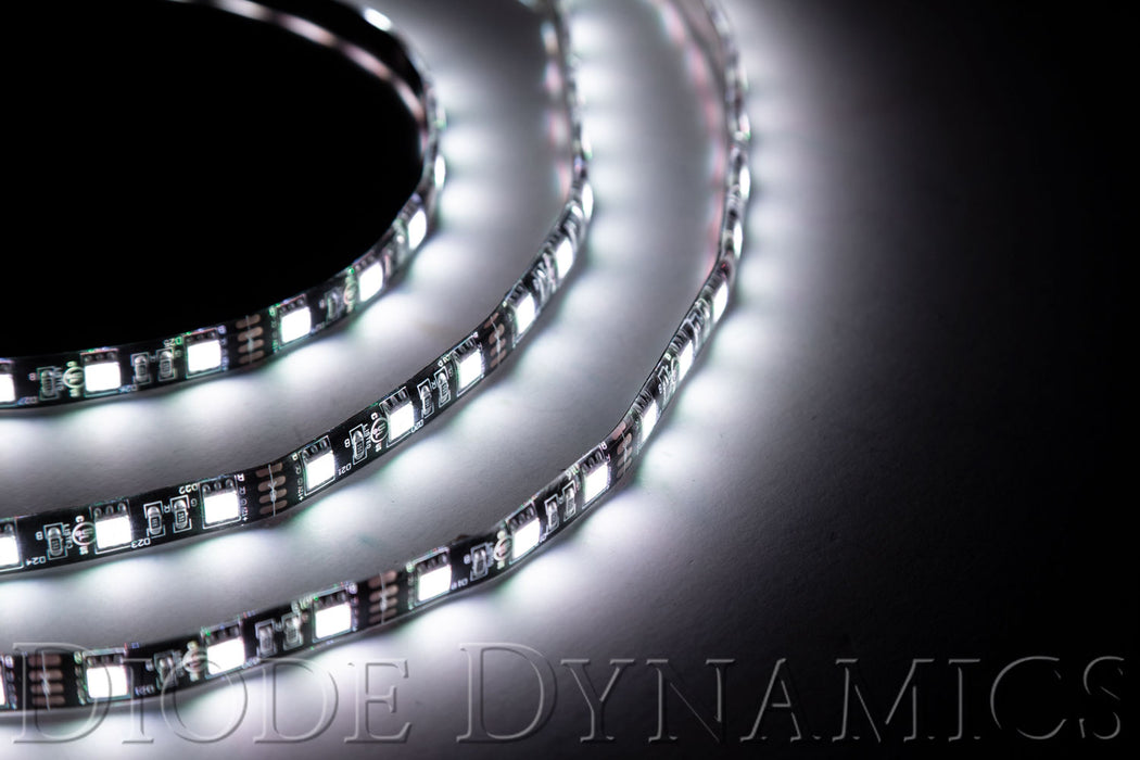 LED Strip Lights Cool White 100cm Strip SMD100 WP Diode Dynamics