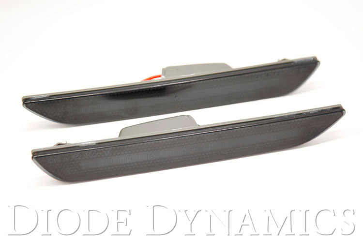 Mustang 2015 LED Sidemarkers Smoked Set Diode Dynamics