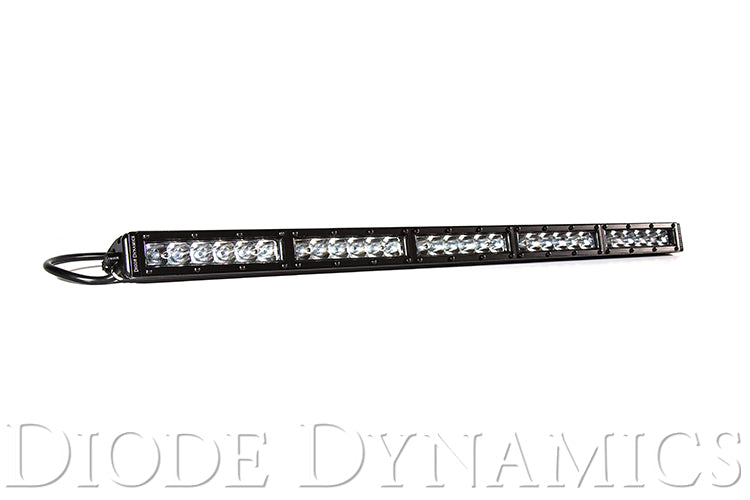 30 Inch LED Light Bar  Single Row Straight Clear Driving Each Stage Series Diode Dynamics