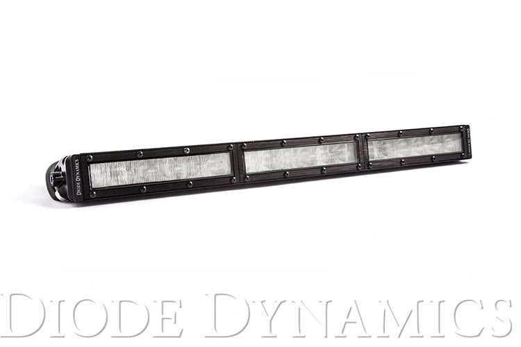 18 Inch LED Light Bar  Single Row Straight Clear Wide Each Stage Series Diode Dynamics