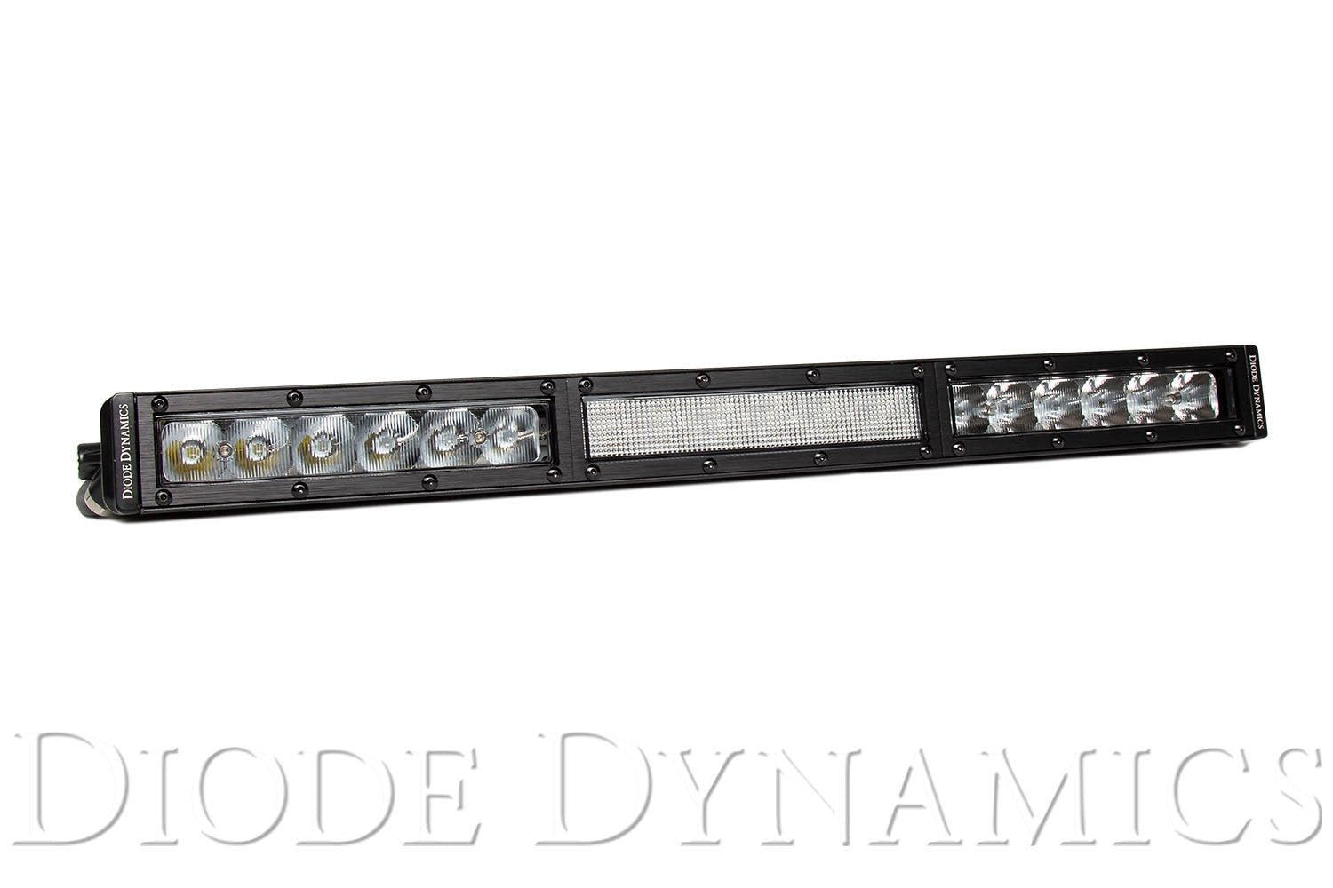 18 Inch LED Light Bar  Single Row Straight Clear Combo Each Stage Series Diode Dynamics