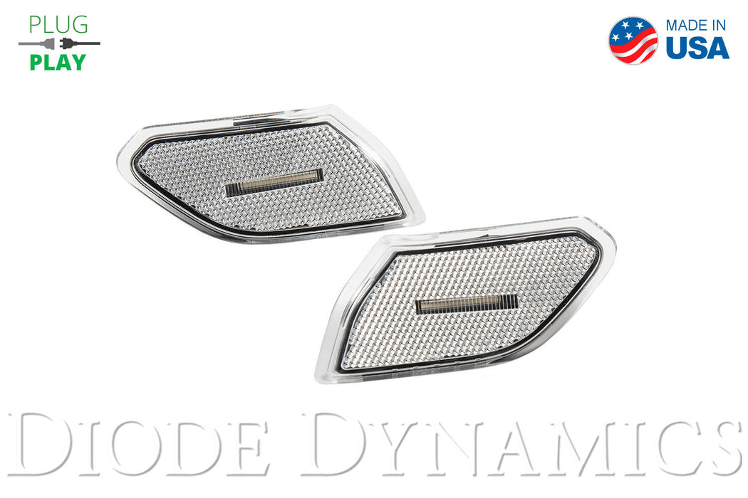 Jeep JL Sidemarkers Clear Set Diode Dynamics