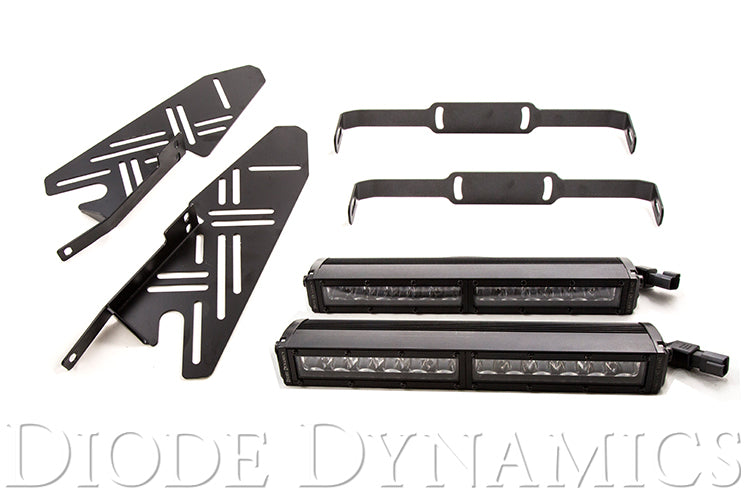 Raptor 2017 Stage Series Fog Kit 12 White Driving Diode Dynamics