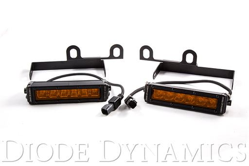 Ram 2013 SportExpress Stage Series 6 Inch Kit Amber Driving Diode Dynamics