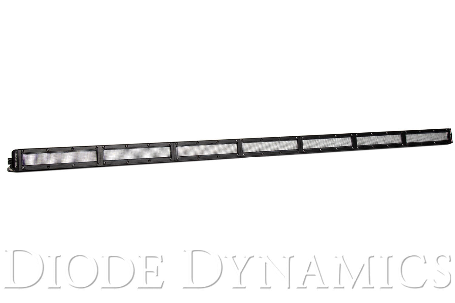 42 Inch LED Light Bar  Single Row Straight Clear Flood Each Stage Series Diode Dynamics