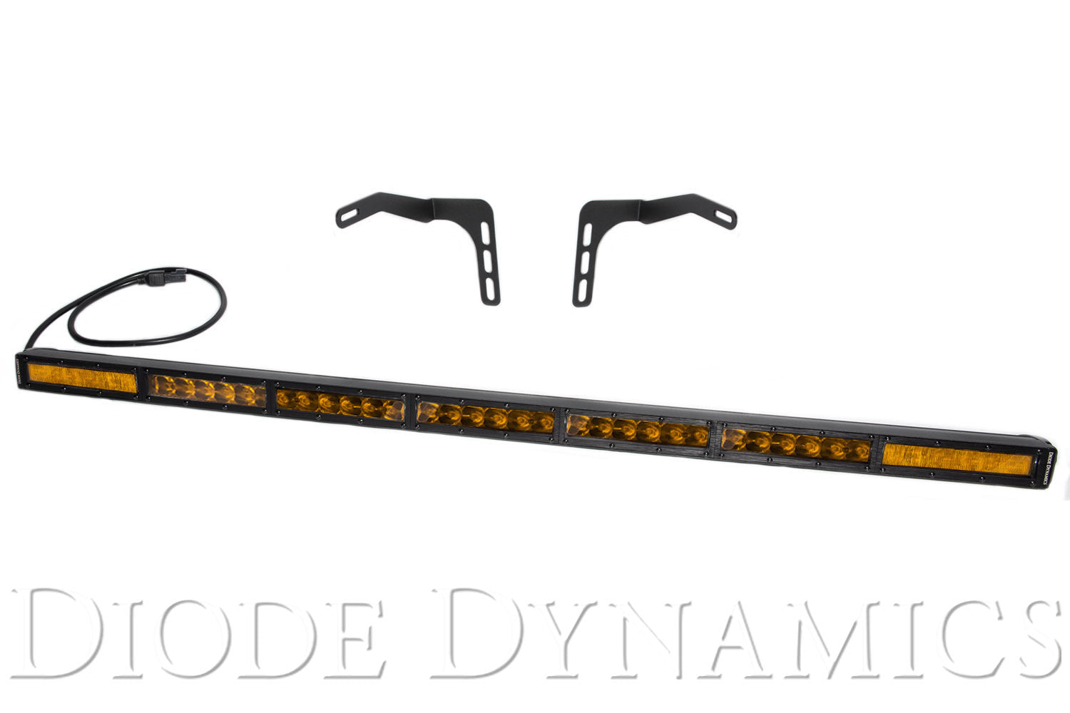Tundra 42 Inch LED Lightbar Kit Amber Combo Stealth Series Diode Dynamics