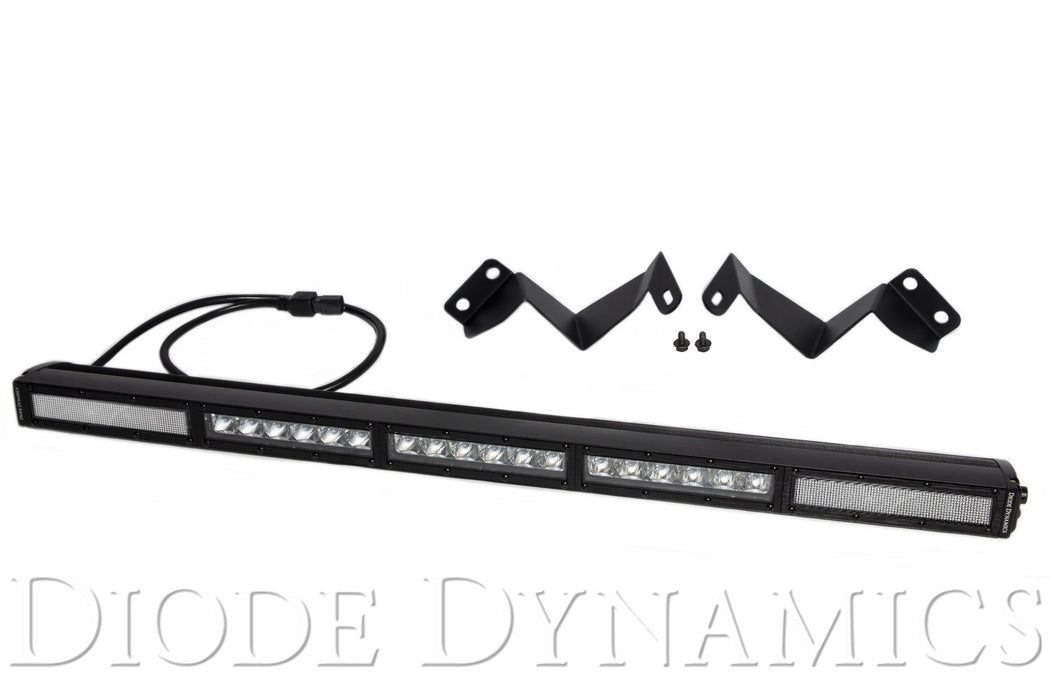 Tacoma 30 Inch LED Light Bar Kit 16-19 Tacoma Stealth Clear Combo Diode Dynamics