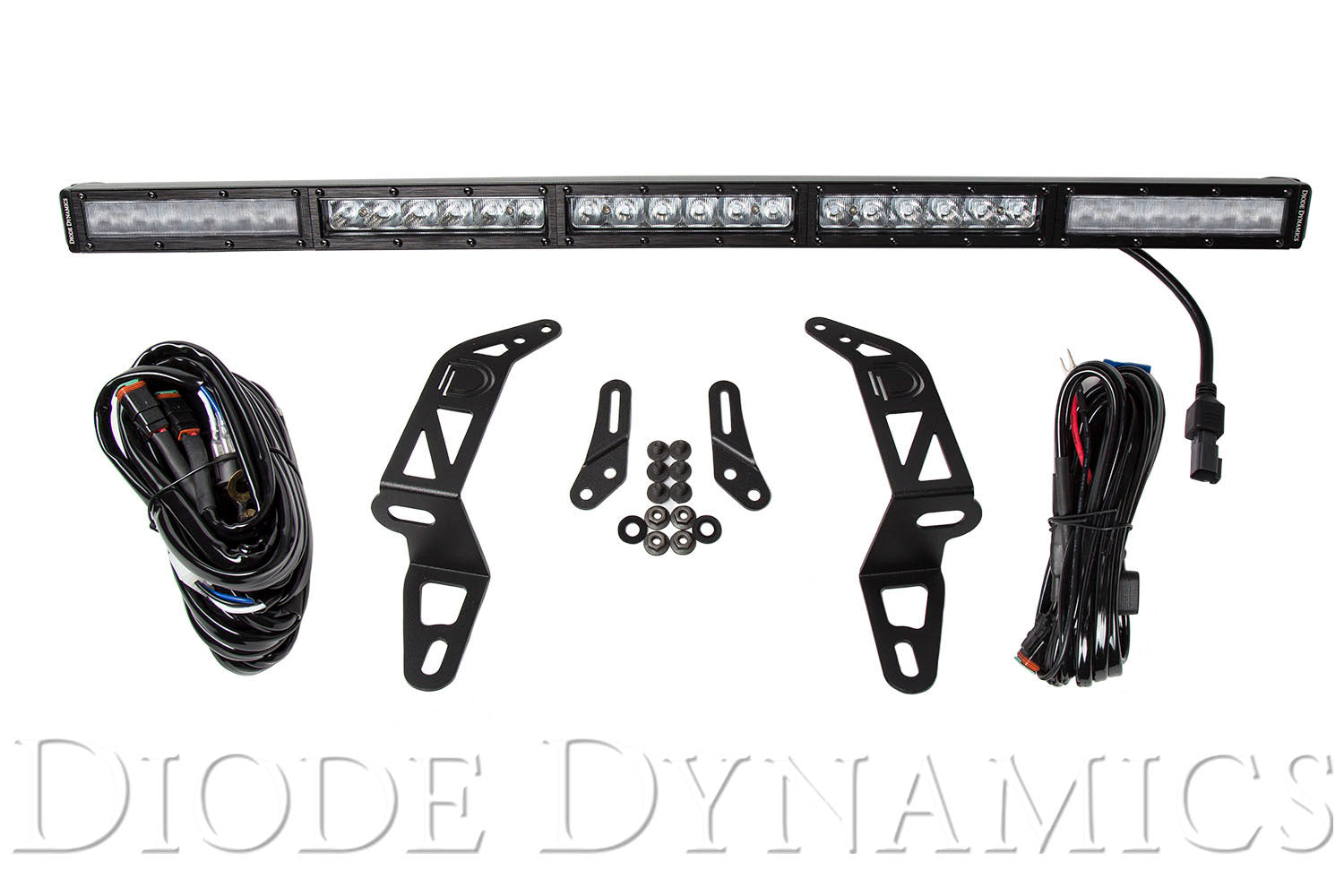 Jeep 2018 SS30 Bumper LED Kit White Combo Single Diode Dynamics