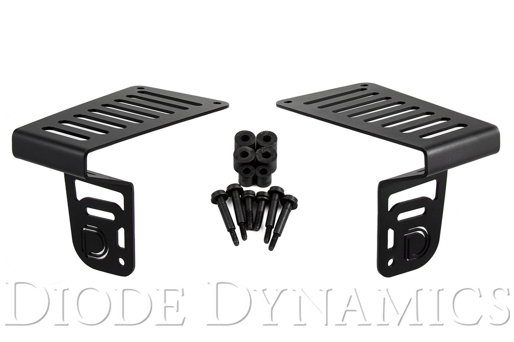 Jeep JL 2018-2019 Cowl Bracket Kit Diode Dynamics