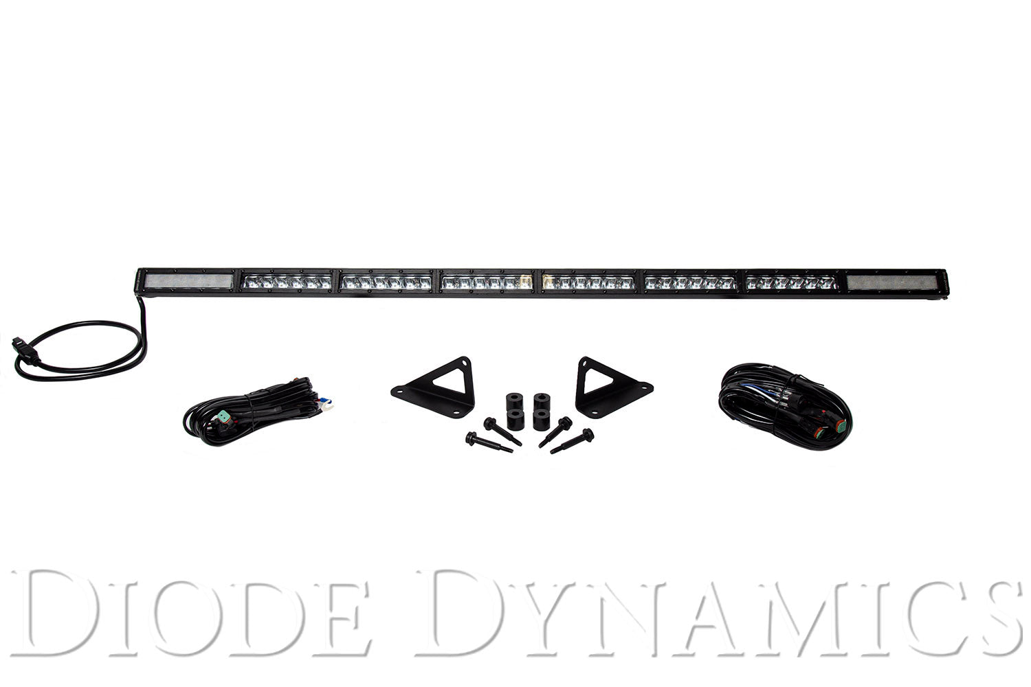 Jeep 2018 SS50 Hood LED Kit White Combo Diode Dynamics