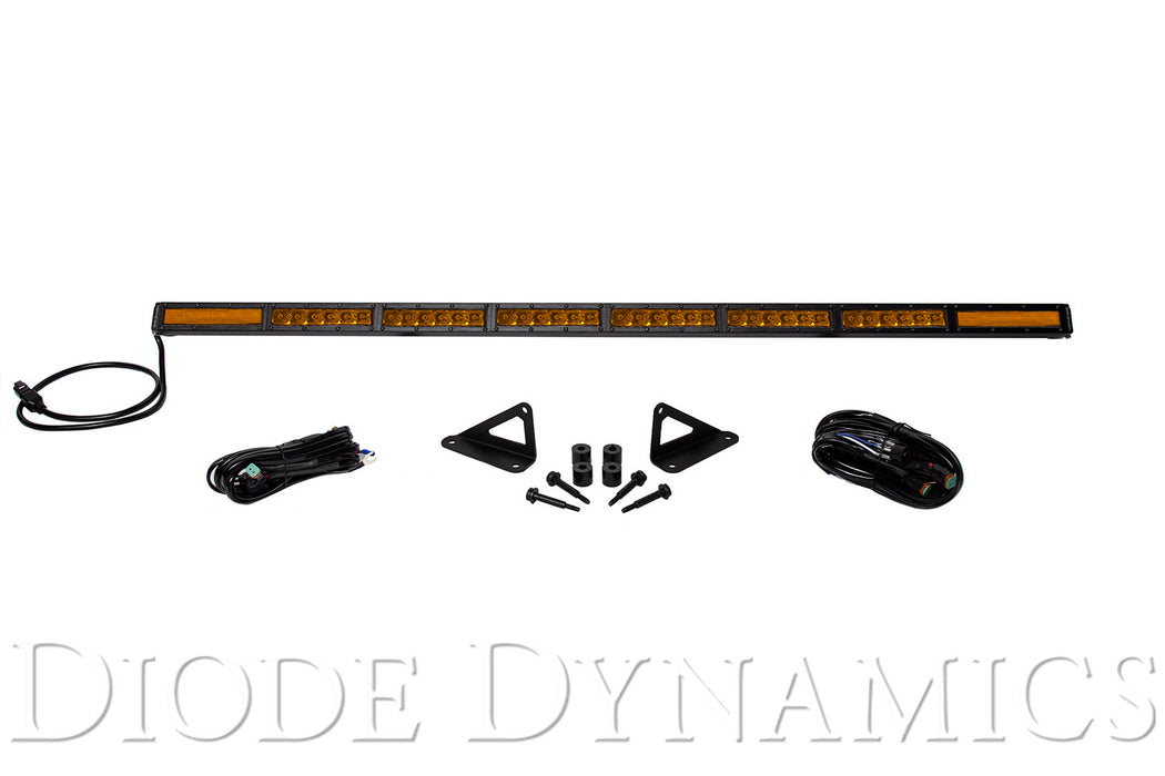 Jeep 2018 SS50 Hood LED Kit Amber Combo Diode Dynamics