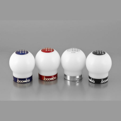 Boomba Racing Focus ST White Delrin Shift Knob