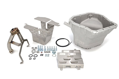 IAG EJ STREET SERIES OIL PAN PACKAGE (SILVER PAN / PICKUP / STREET BAFFLE / WINDAGE TRAY) FOR WRX, STI, LGT, FXT