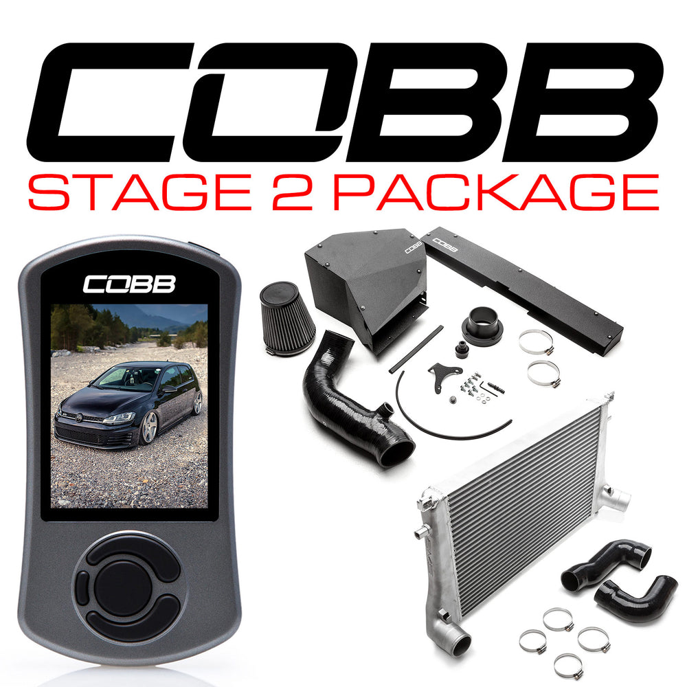 COBB VOLKSWAGEN STAGE 2 POWER PACKAGE WITH DSG TUNING GTI (MK7/MK7.5) GTI, JETTA (A7) GLI