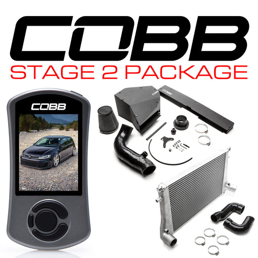 COBB STAGE 2 POWER PACKAGE WITH DSG TUNING GTI (MK7) 2015-2018 USDM