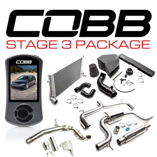 COBB STAGE 3 POWER PACKAGE WITH DSG TUNING GTI (MK7) 2015-2017 USDM