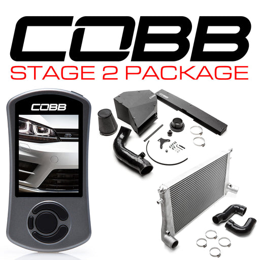 COBB STAGE 2 POWER PACKAGE GOLF R (MK7) 2015-2018 USDM