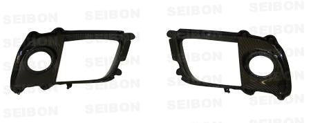 Seibon 08-12 Mitsubishi Lancer Evo X Fog Light Surround - Panda Motorworks - 1