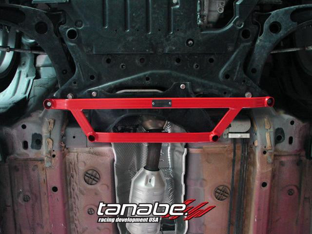 Tanabe Sustec Front 4 Point Under Brace 08-11 Lancer EVO10 - Panda Motorworks - 1