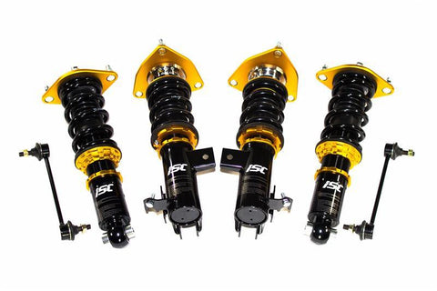 ISC Suspension 08+ Mitsubishi EVO 10 GSR N1 Coilovers - Track/Race - Panda Motorworks
