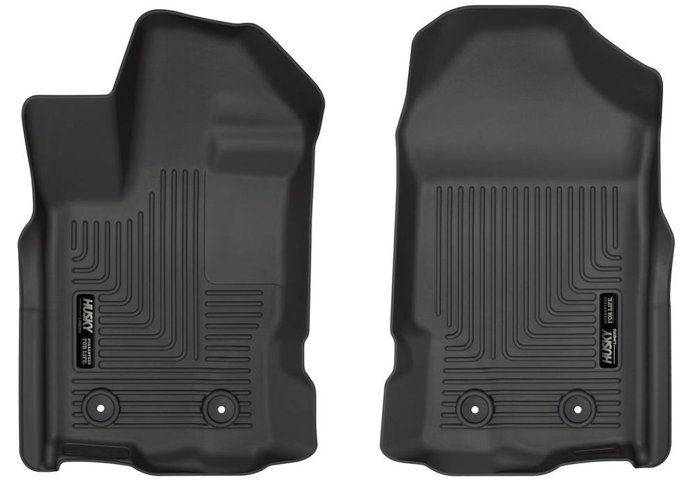 Husky Liners  Weatherbeater Floor Liners 2019 Ford Ranger SuperCab