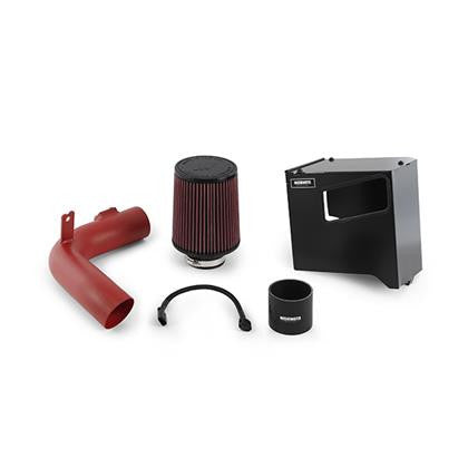 Mishimoto 15-16 Subaru WRX Performance Race Air Intake Kit - Wrinkle Red - Panda Motorworks