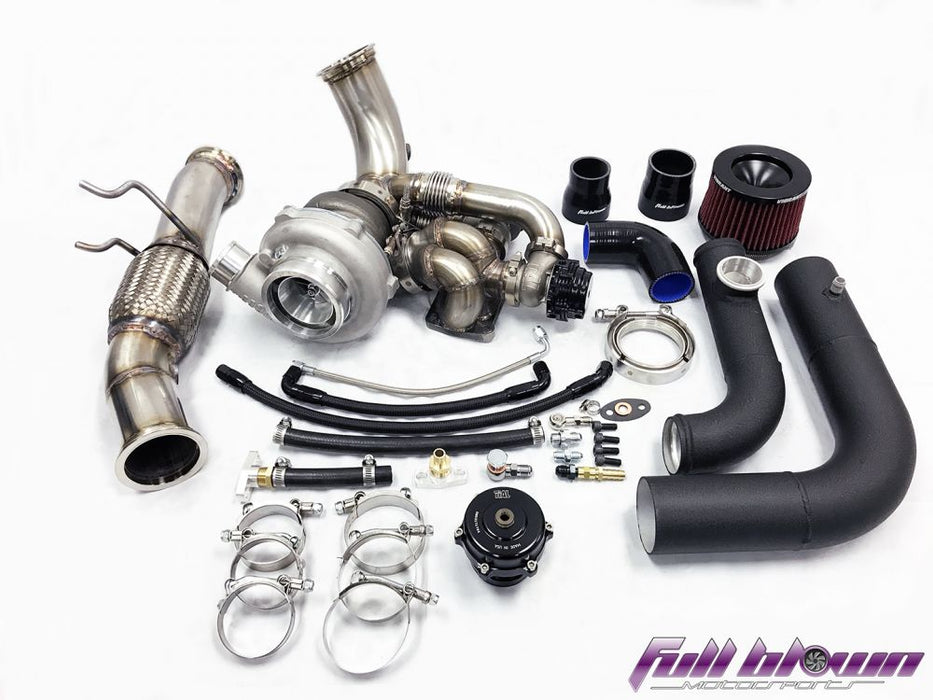 Full Blown Ford Focus RS Twin Scroll Turbo kit
