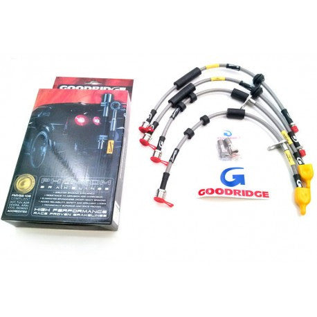 Goodridge Stainless Brake Line Kit (Front & Rear) - Panda Motorworks