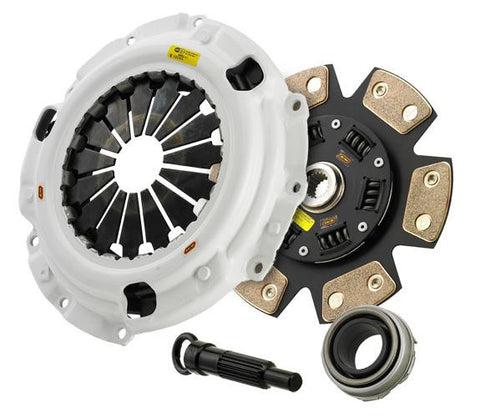 Clutch Masters 08-10 Mitsubishi 2.0L T Evo X 5spd H/D Press Plate Sprung F/F Ceramic Disc Clutch Kit - Panda Motorworks