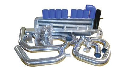 Turbo XS 08-09 Evo 10 Upper & Lower Intercooler Piping Kit ONLY - Panda Motorworks