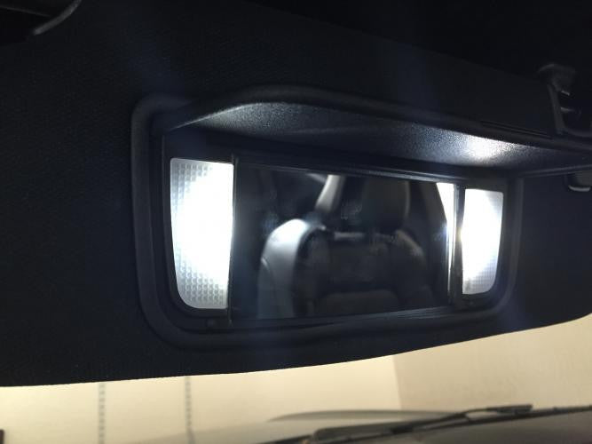 2015 Ford Mustang Vanity Light LEDs (set) - Panda Motorworks - 2