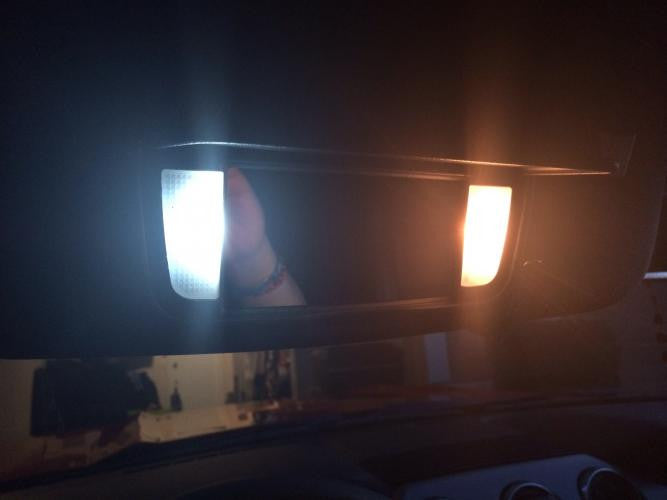 2015 Ford Mustang Vanity Light LEDs (set) - Panda Motorworks - 1