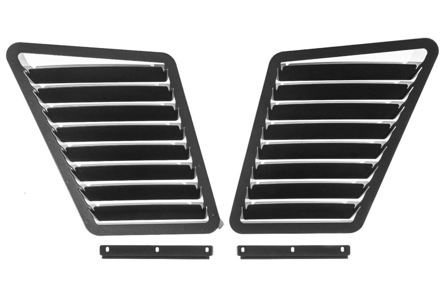Verus Engineering Hood Louver Kit Powdercoated Black- Focus ST/RS
