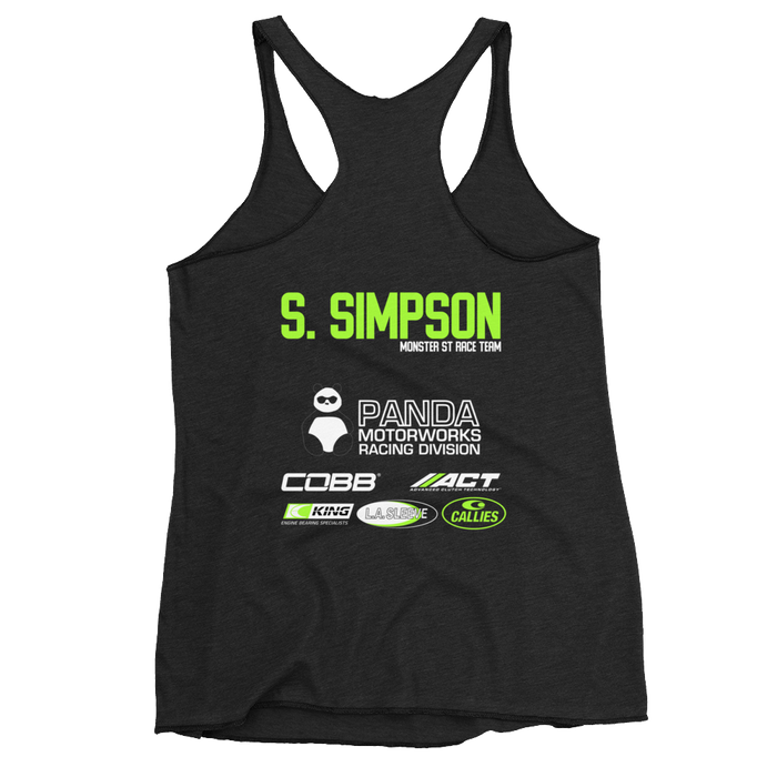 Monster ST Racing Team Official Women's Tank