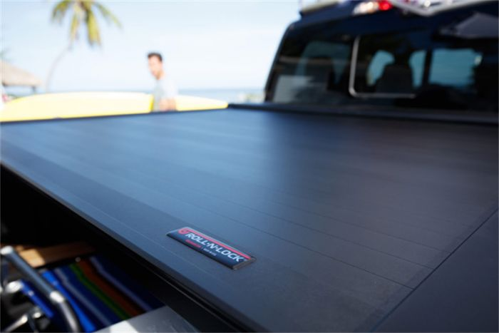 Roll-N-Lock Locking Retractable E-Series Truck Bed Tonneau Cover for 2019 Ford Ranger | Fits 5.0' Bed