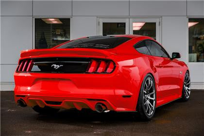 Mustang EcoBoost MBRP XP Series Cat Back Exhaust - Panda Motorworks - 2