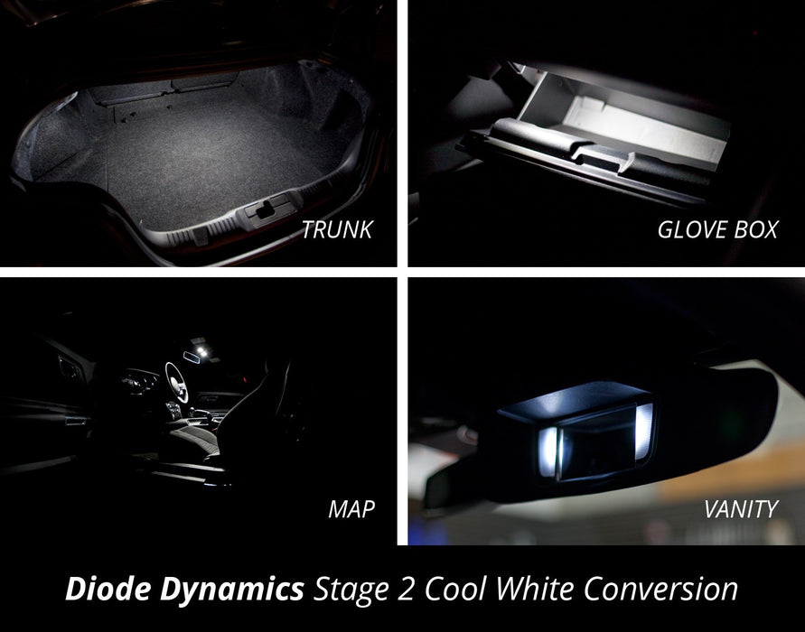 2015 Ford Mustang Interior LED Conversion Kit - Panda Motorworks - 3