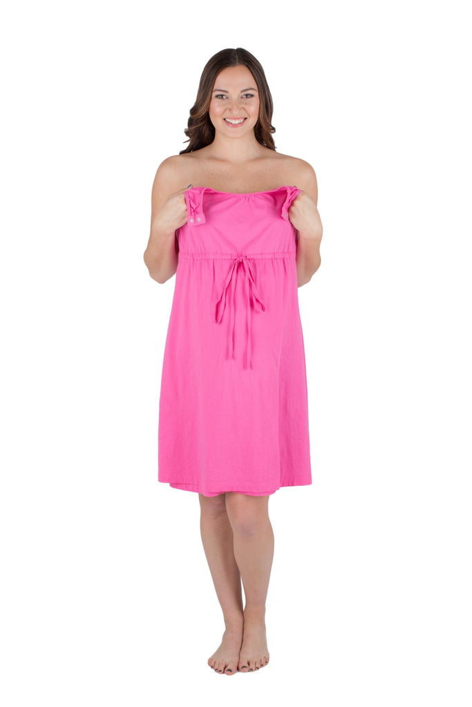 Pretty In Pink 3 in 1 Labor / Delivery / Nursing Gown