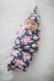 Eve Delivery Robe & Swaddle Blanket Set