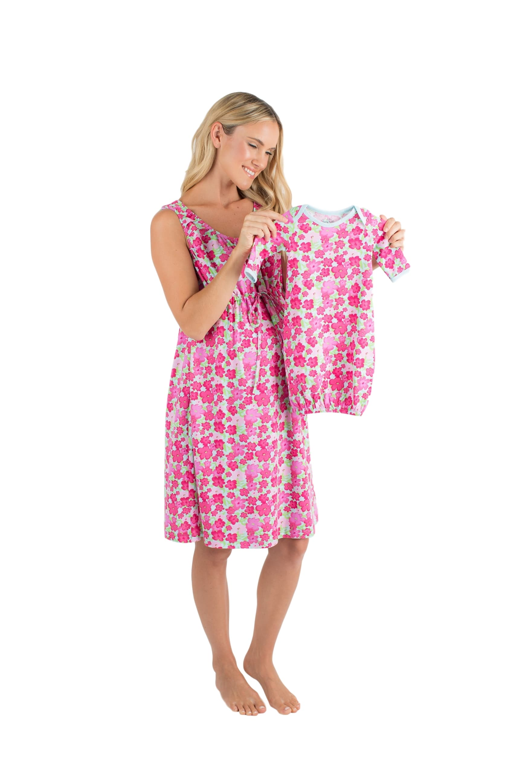 Brooke 3 in 1 Labor Gown & Baby Gown Set