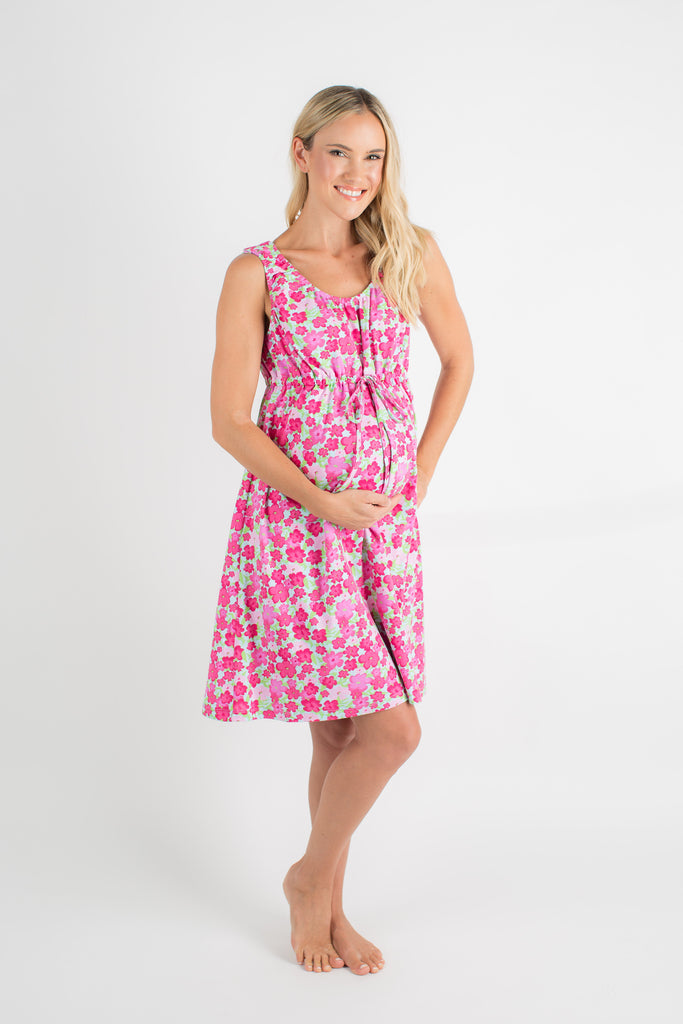 Brooke 3 in 1 Maternity Labor Nursing Hospital Birthing Gown