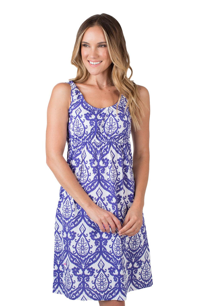 Brie Maternity/Nursing Sleeveless Nightgown
