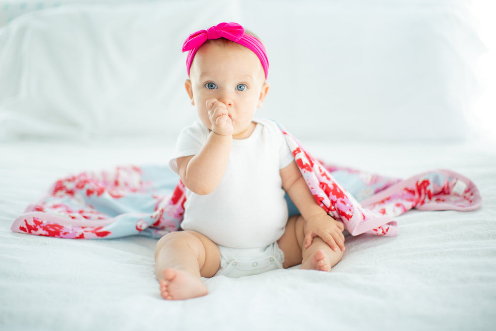 Baby Girl Hot Pink Headband
