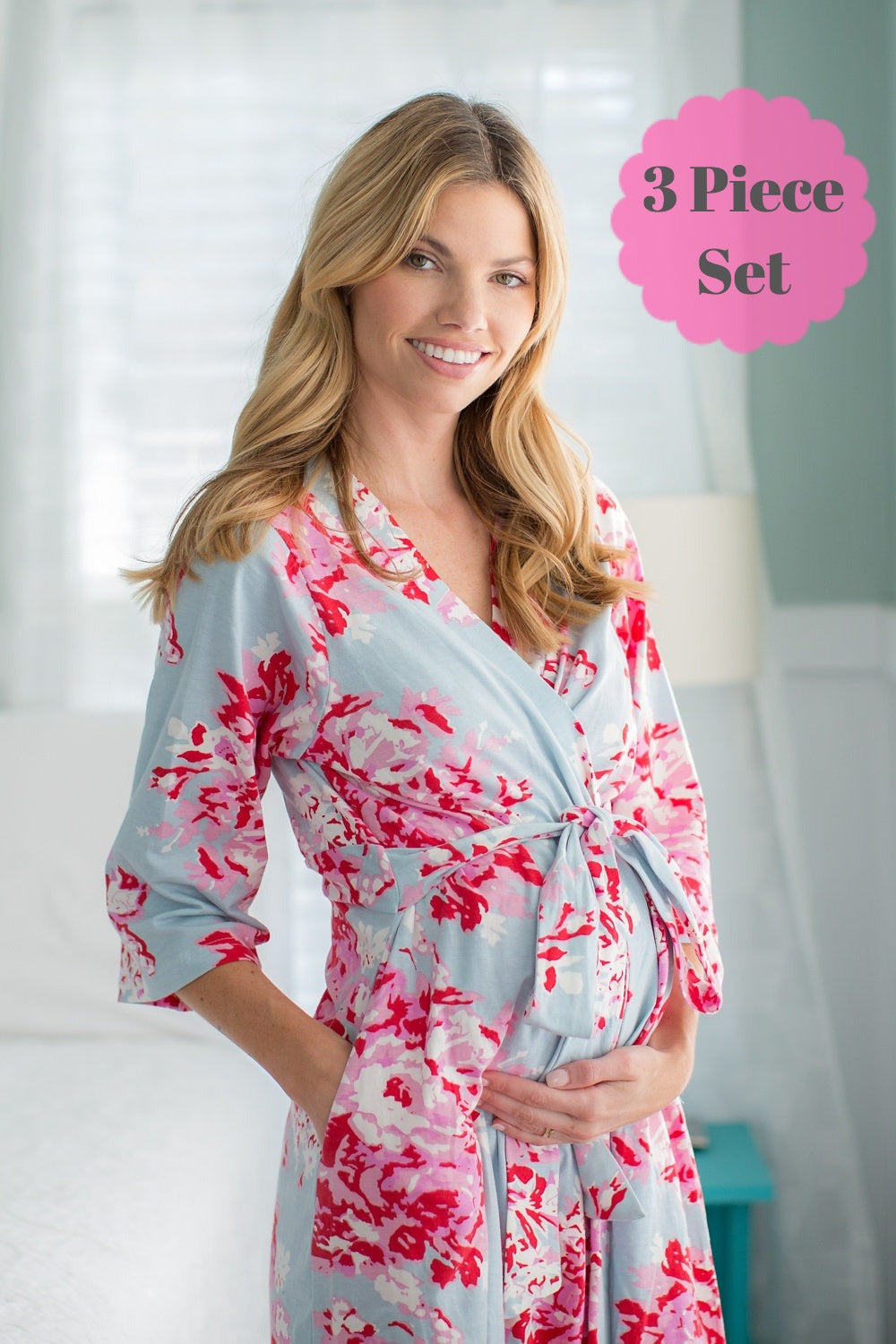 Mae Robe & Matching Baby Gown Set