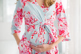 Mae 3 in 1 Maternity Labor Gown & Matching Robe