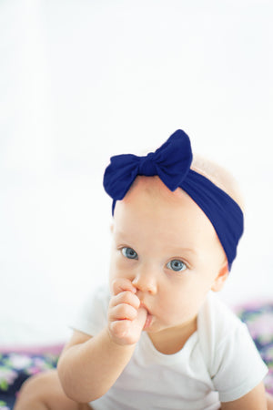 Baby Girl Navy Headband