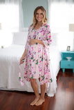 Amelia 3 in 1 Maternity Labor Gown & Matching Robe